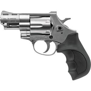 """EAA Windicator .357 Mag Revolver 2"""" Barrel 6 Rounds Fixed Sights Rubber Grips Steel Frame Nickel"""