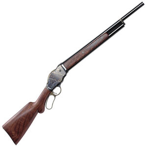 "Chiappa Firearms 1887 Lever Action Shotgun Fast Load 12 Gauge 2.75"" Chamber 22"" Barrel 2 Rounds Wooden Stock Case Color Receiver Blued Barrel 930.004"