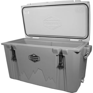 Cordova 100 Large Cooler, 88 Quarts, Gray
