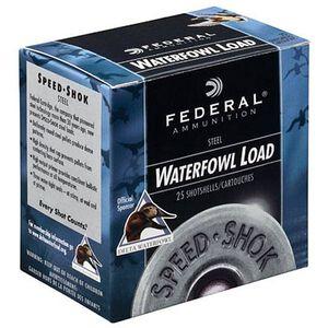 "Ammo 10 Gauge Federal Speed-Shok 3-1/2"" BB Steel 1-1/2 Ounce 1450 fps 250 Round Case WF107BB"