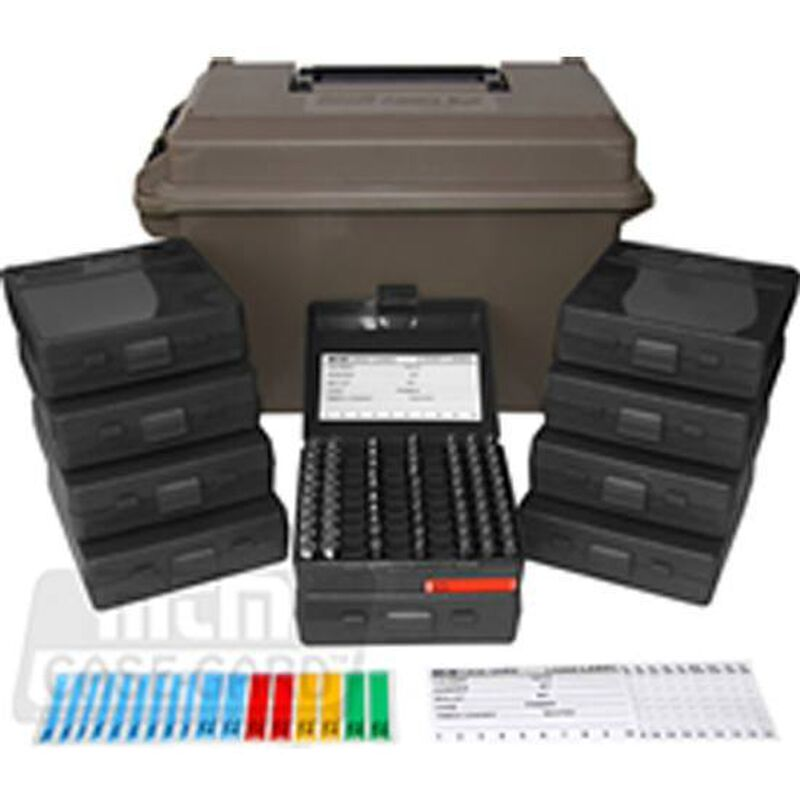 MTM Case-Gard .50 Caliber Ammo Can With 9mm Ammo Boxes Polymer Black ACC9