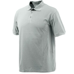 Beretta Special Purchase Men's Polo Short Sleeve XL Cotton Red and Silver