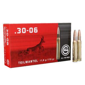GECO .30-06 Springfield Ammunition 20 Rounds 170 Grain Soft Point