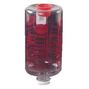 Bottle and Cap Assembly Six Inch Shotshell Reloading Replacement Bottle