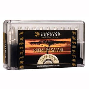 Federal Cape-Shok .458 Winchester Magnum Ammunition 10 Rounds Bonded Bear Claw 400 Grains P458T1