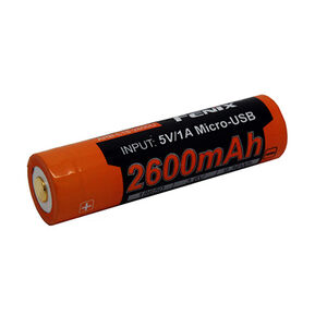 Fenix Tactical Rechargeable 18650 Battery2600 mAh 3.6V