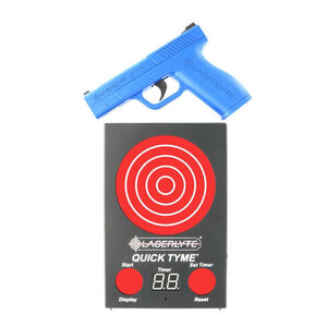 LaserLyte Laser Quick Tyme Kit Full Size Trainer Target Board High Impact ABS Polymer Blue TLB-LQD