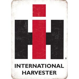"Open Road Brands ""International Harvester"" Embossed Tin Sign 10""x14"""