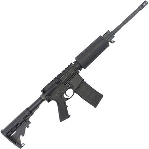"""Stag Arms STAG-15 O.R.C. Semi Auto Rifle 5.56 NATO 16"""" 4150 Steel Barrel 30 Rounds Railed Gas Block Collapsible Stock Black"""