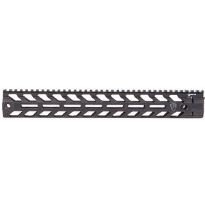 "Fortis Manufacturing REV II AR-15 Free Float Rail System 14"" Aluminum Anodized Black REV-II-14-MLOK"