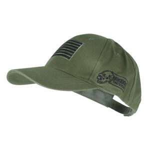 Voodoo Tactical Operator Cap Embroidered Logo US Flag Patch One Size OD Green 20-935104000
