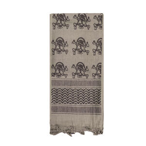 Fox Outdoor Tactical Shemagh Tan With Skulls 79-123