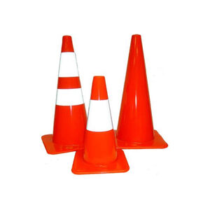 "Pro-Line Safety CC28-5 5 pack of the 28"" traffic cones"