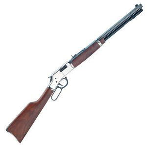 "Henry Big Boy Silver 357 Mag 20"" Barrel Walnut Stock Blued"