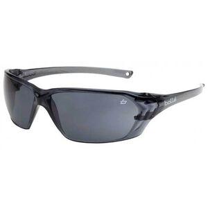 Bolle Prism Safety Glasses Smoke Lenses Gloss Black Frames