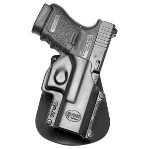 Fobus Holster Glock 36 Left Hand Paddle Attachment Polymer Black