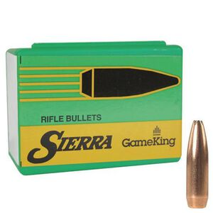 "Sierra .270 Caliber .277"" Diameter 140 Grain GameKing Hollow Point Boat Tail Bullets 100 Count 1835"