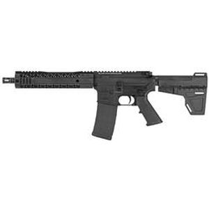 "Black Rain BRO SPEC15 Pistol 5.56 NATO AR-15 Semi Auto Pistol 10.5"" Barrel 30 Rounds M-LOK Hybrid Handguard Shockwave Blade Pistol Brace Black"