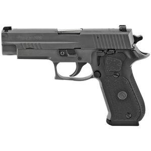 "SIG Sauer P220 Legion Full Size .45 ACP Semi Auto Pistol 4.4"" Barrel 8 Rounds X-Ray3 Sights SIG Rail Steel Alloy Frame Cerakote Elite Legion Gray Finish"