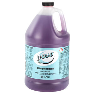ESCA Tech Inc Surface Cleaning D-Lead All Purpose Cleaner 1 Gallon Bottle 4 Bottles Per Pack