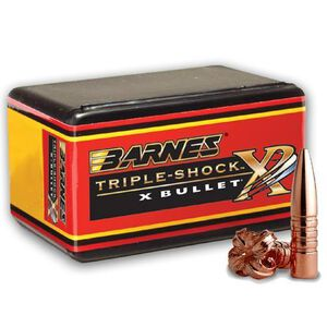 Barnes .270 Caliber Bullet .277 Diameter 50 Projectiles  TSX BT 130 Grains 30264