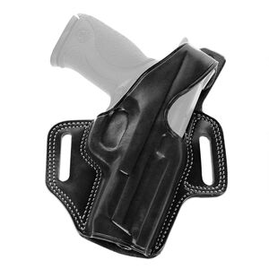 Galco FLETCH Belt Holster Fits GLOCK 29/30 Right Hand Leather Black