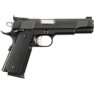 "Charles Daly 1911 Empire Grade .45 ACP Semi Auto Pistol 8 Rounds 5"" Barrel Synthetic Black VZ Grips Black Finish"