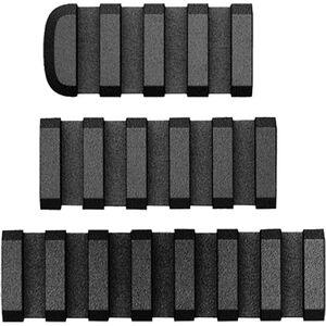 AB Arms LTF Rails AR-15 Picatinny Rail 3 Piece Combo Pack Polymer Black