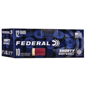 Federal Shorty Shotshell 12 Gauge Ammunition 10 Rounds #4 Buck 1200 fps