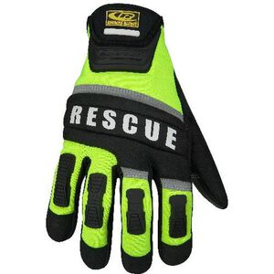 Ringer Gloves High Visibility Rescue Gloves Extra Large Green