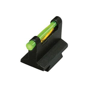 HiViz Front Sight Muzzleloader 3/8 Dovetail Fiber Optic Family Steel  DOVM380