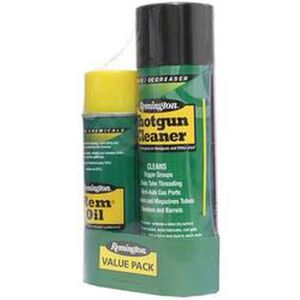 Remington Shotgun Cleaning Combo Lube/Cleaner 10 oz Oil and 18 oz Cleaner Aerosol Can 18131