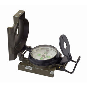 HUMVEE Military Style Compass, Olive Drab Metal Case (HMV-COMPASS-OD)