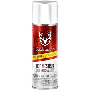 Buck Bomb Synthetic Doe 'N Estrus Bomb 6.5 oz Aerosol Spray Can