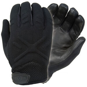 Damascus Protective Gear Interceptor X Duty Gloves Full Leather Palm Extra Large Black MX30XLG