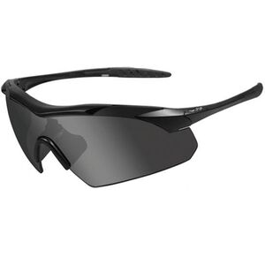 Wiley X Eyewear Vapor Tactical Goggles Smoke Grey Light Rust and Clear Lenses Black Frame 3502