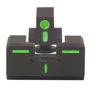 Mako Group Meprolight R4E Optimized Duty Sight Full Sized GLOCK Models Green Tritium Enhanced Black 12224
