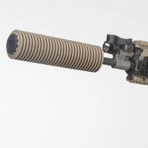 "Manta Suppressor Cover 1.5"" ID 7"" Long .223/5.56/.300/.308/7.62 Synthetic FDE M7001"