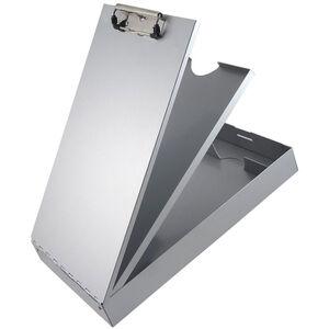 Saunders Redi-Rite Cruiser-Mate Storage Clipboard with Pen Divider Legal Sized Aluminum