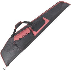 "Allen Uncompahre 46"" Scoped Rifle Gun Case Soft Adjustable Sling Endura Black/Red"