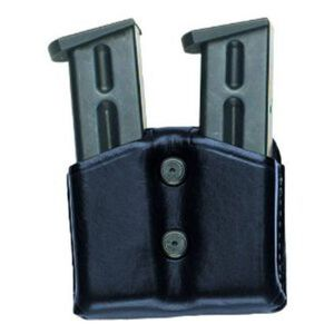 Aker Leather Doublestack Twin Ammo Pouch 9MM/40 Black