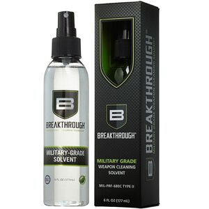 Breakthrough Clean Technologies Military-Grade Solvent 6 Ounce Spray Bottle