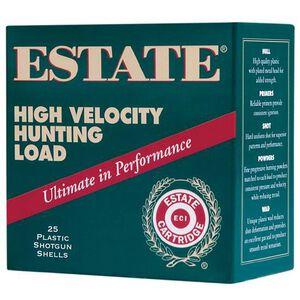 "Estate High Velocity 12 Ga 2.75"" #4 Lead 1.25oz 250 rds"