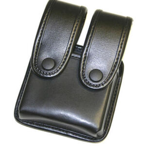 Uncle Mike's Mirage Plain Magazine Double Case with Flaps 74261