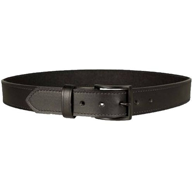 "DeSantis Econo Belt 1.5"" Width Size 38"" Bonded Leather Powder Coated Buckle Black E25BJ38Z3"