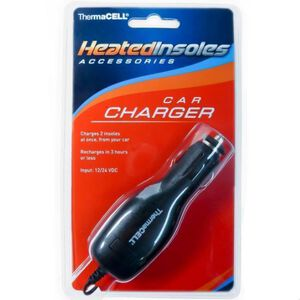 ThermaCELL Heated Insoles Car Charger THSCC-1-06