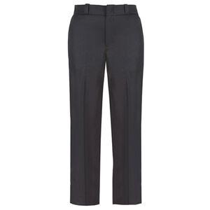 Elbeco TEXTROP2 Women's 4 Pocket Pants Size 18 Unhemmed Polyester Serge Weave Midnight Navy