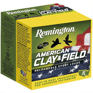 "Remington American Clay & Field 20 Gauge Ammunition 2-3/4"" Shell #9 Lead Shot 7/8oz 1200fps"