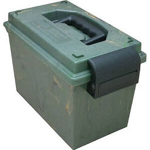 "MTM Case-Gard Sportsman's Dry Box 14""x7-1/2""x9"" Lockable Latch Forest Green"