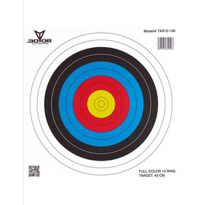 ".30-06 Outdoors 10 Ring Paper Target 17""x17"" Archery Targets 100 Pack TAR10-100"